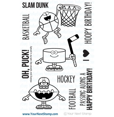 Your Next Stamp- Sports Fanatics One