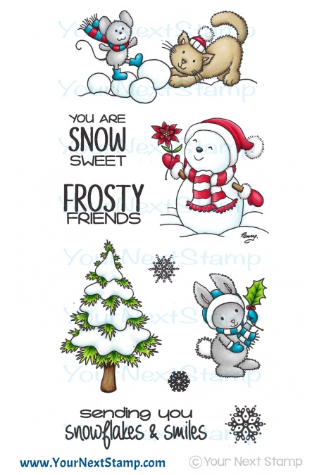 Your Next Stamp - Frosty Friends