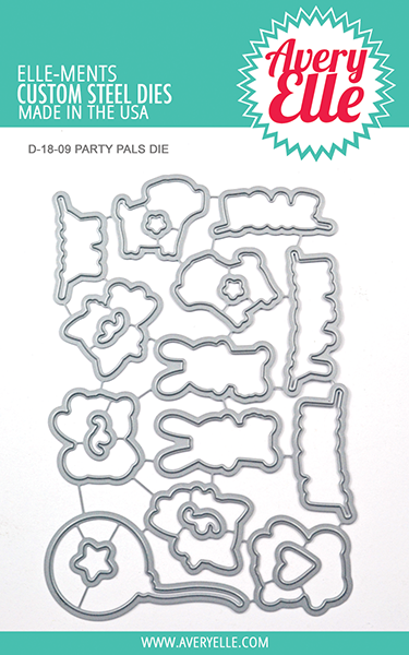 *NEW* - Avery Elle - Die: Party Pals Elle-ments