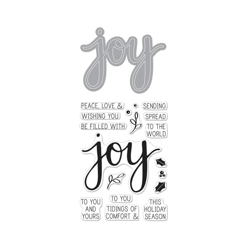 *NEW* - Hero Arts - Joy Stamp & Cut