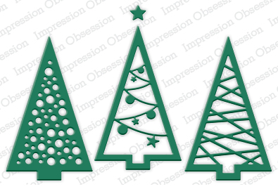 Impression Obsession - Christmas Tree Cutout