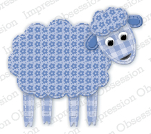 Impression Obsession- Patchwork Sheep
