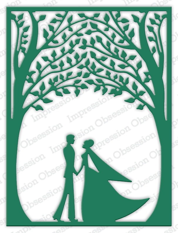 *NEW* - Impression Obsession - Bride & Groom Frame