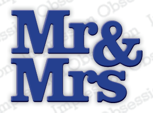 *NEW* - Impression Obsession - Mr. & Mrs.