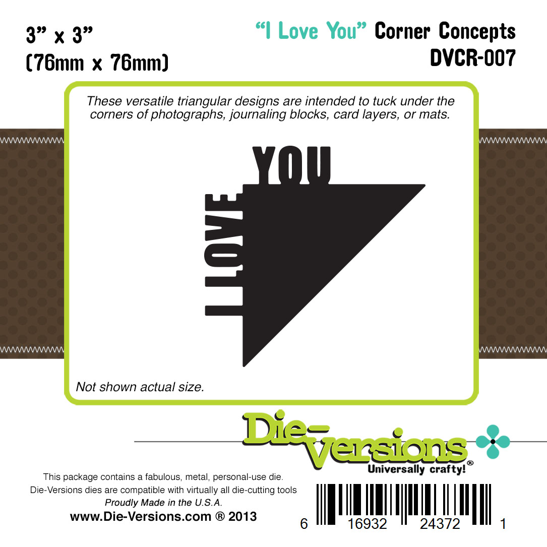 Die-versions - Corner Concepts - I Love You
