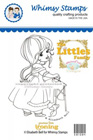 ###Whimsy Stamps - Penelope Little Ironing - Elisabeth Bell