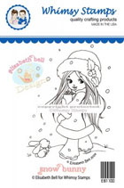 ** Whimsy Stamps - Snow Bunny - Elisabeth Bell
