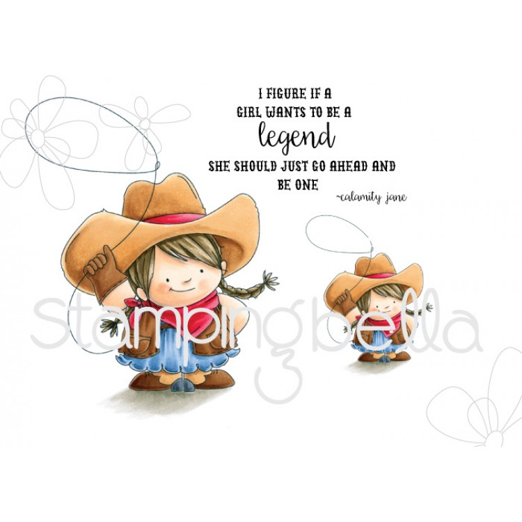Stamping Bella - Cowgirl Squidgy