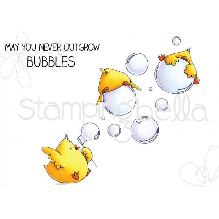 Stamping Bella - Bubble chicks