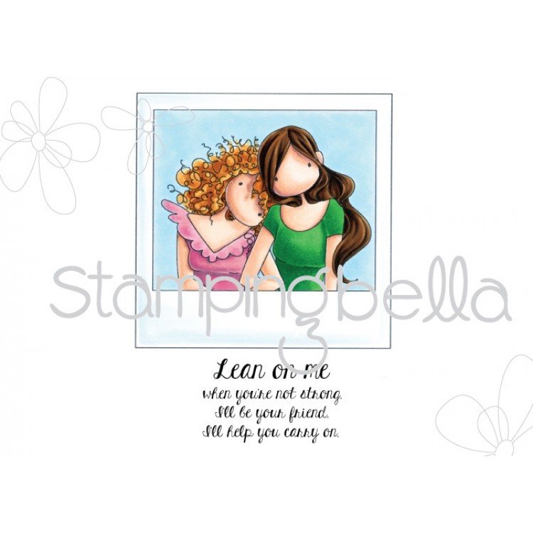 Stamping Bella - uptown girl SNAPSHOTS-LEAN ON ME