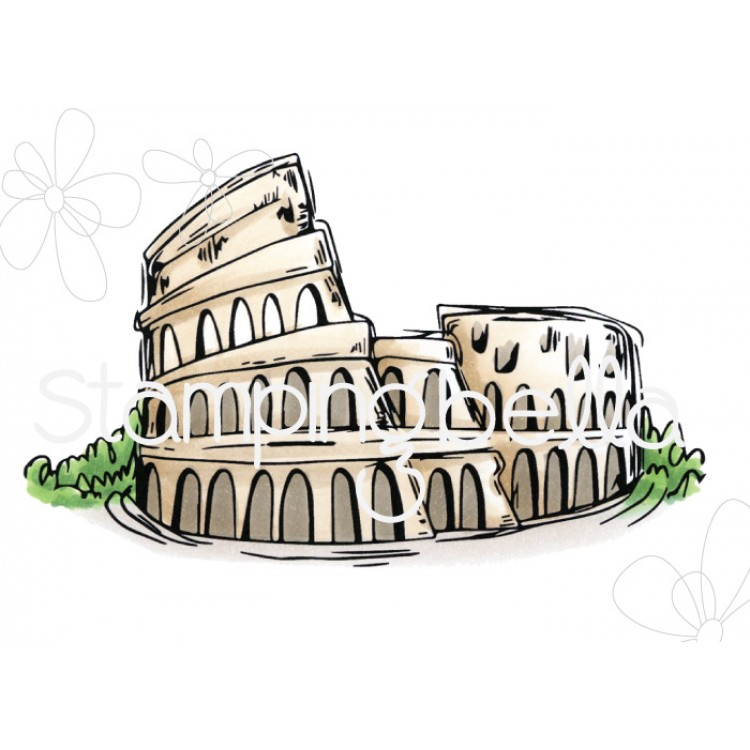 *PRE-ORDER - Stamping Bella - Rosie and Bernie's Colosseum