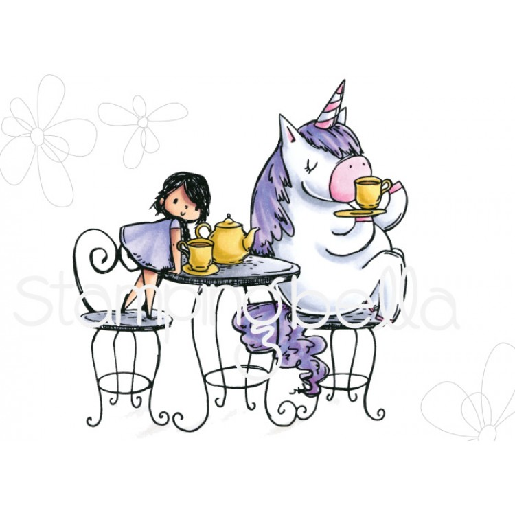 Stamping Bella - Rosie and Bernie have a tea party