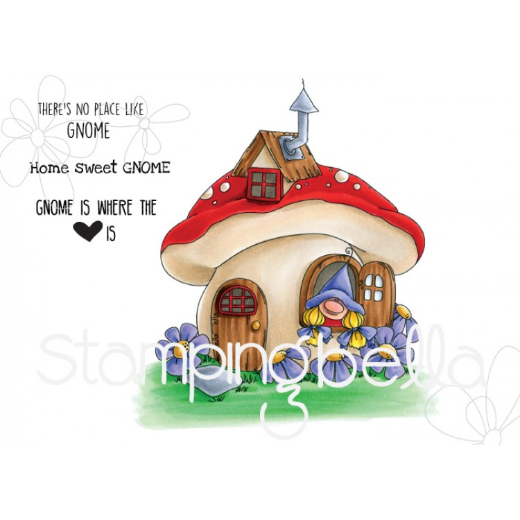 Stamping Bella - Gnome home