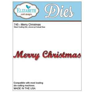 *XMAS* Elizabeth Craft Designs - Merry Christmas