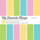 My Favorite Things - Lucky Prints 6 x 6 Paper Pack