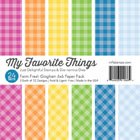 My Favorite Things - Farm Fresh 6 x 6 Gingham Paper Pack