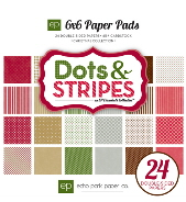 Echo Park - Dots & Stripes - Christmas Collection 6 x 6 Pad
