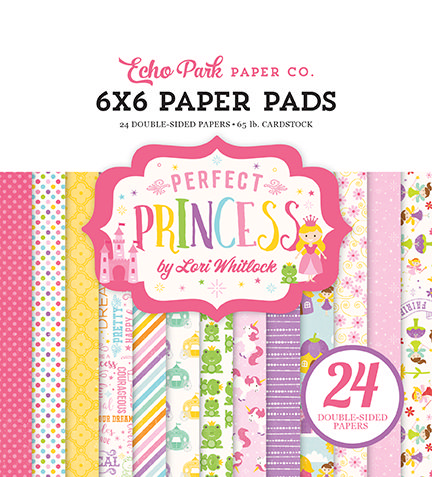 Echo Park - Perfect Princess 6x6 Paper Pad