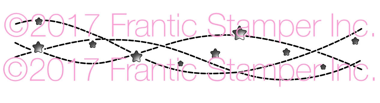 *NEW* - Frantic Stamper - Precision Die - Streaming Stars