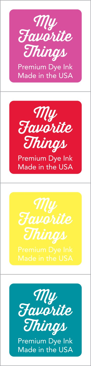 My Favorite Things - Premium Dye Ink Cubes - Set 9