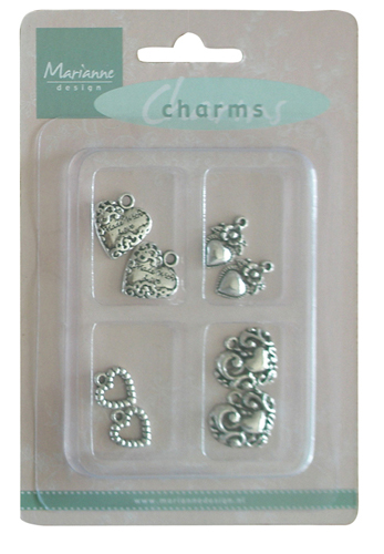 Marianne Design Charms - Hearts