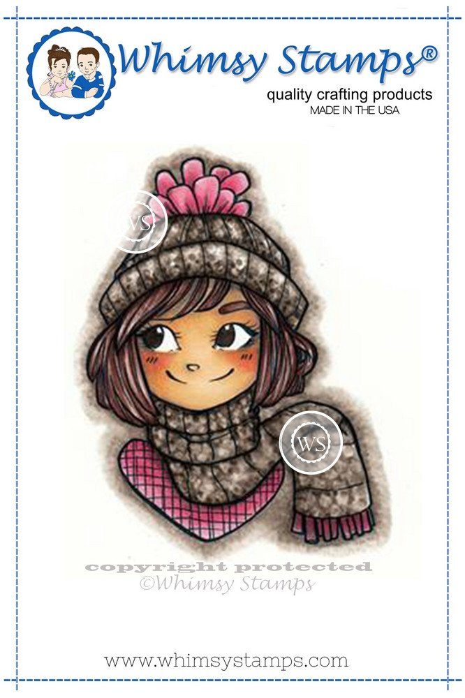 Whimsy Stamps - Bundled Up - Kirsten Winkelbauer Collection