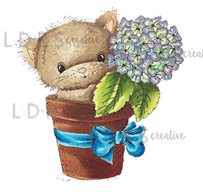 *NEW* - LDRS Creative - Hydrangea Kitty