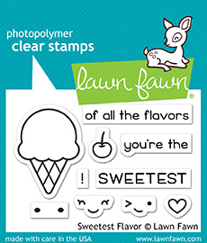 *NEW* - Lawn Fawn - sweetest flavor
