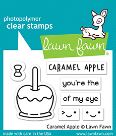 *NEW* - Lawn Fawn - caramel apple