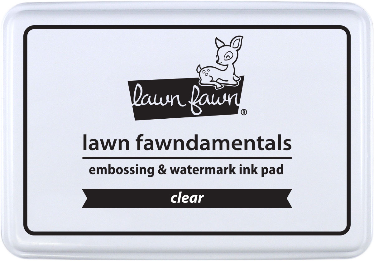 *NEW* - Lawn Fawn - embossing ink pad