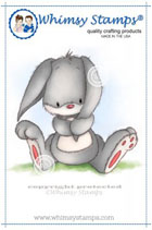 Whimsy Stamps - Woodland Bunny - Lee Holland Collection