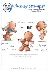 Whimsy Stamps - Beary Fun - Lee Holland Collection