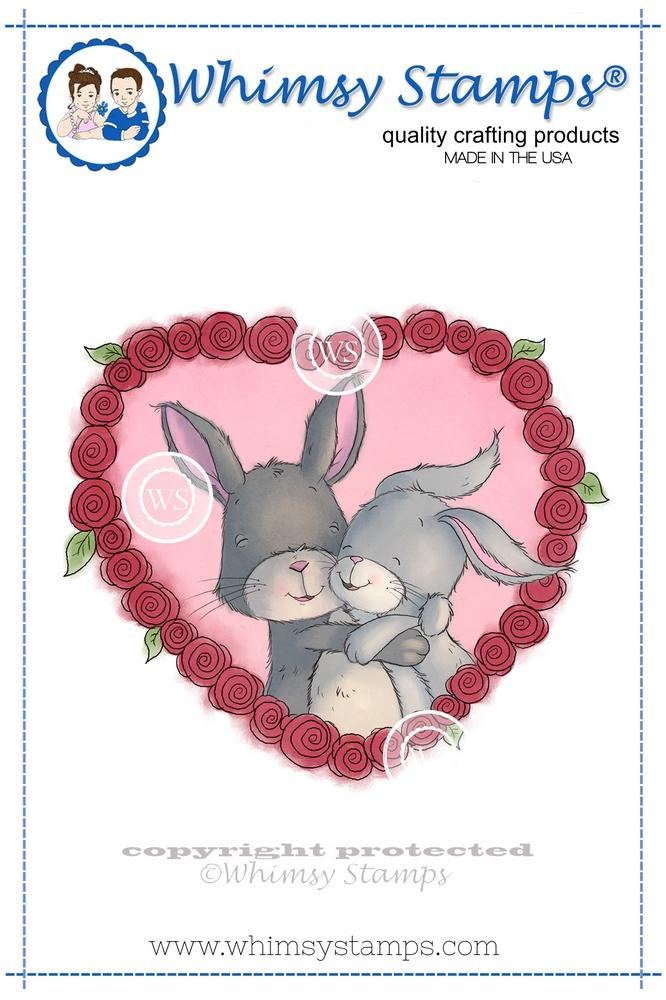 Whimsy Stamps - Bunny Cuddles