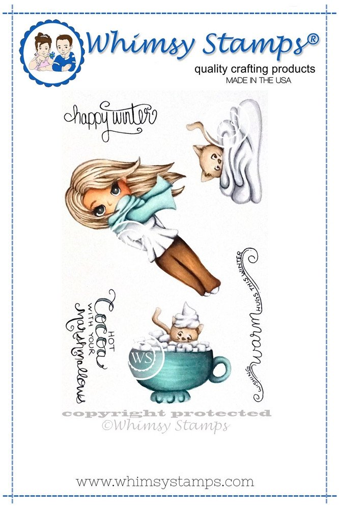 Whimsy Stamps - Winter Wishes - Mindy Baxter