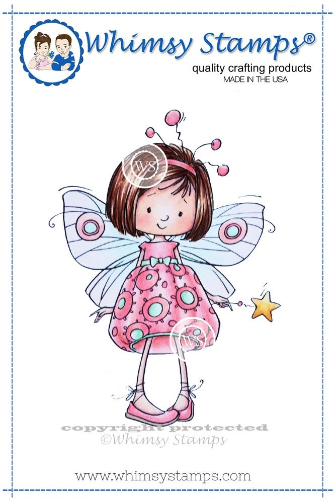 Whimsy Stamps - Mazarine Butterfly Fairy