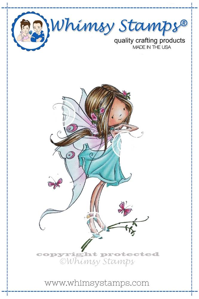 *NEW* - Whimsy Stamps - Faye the Fairy