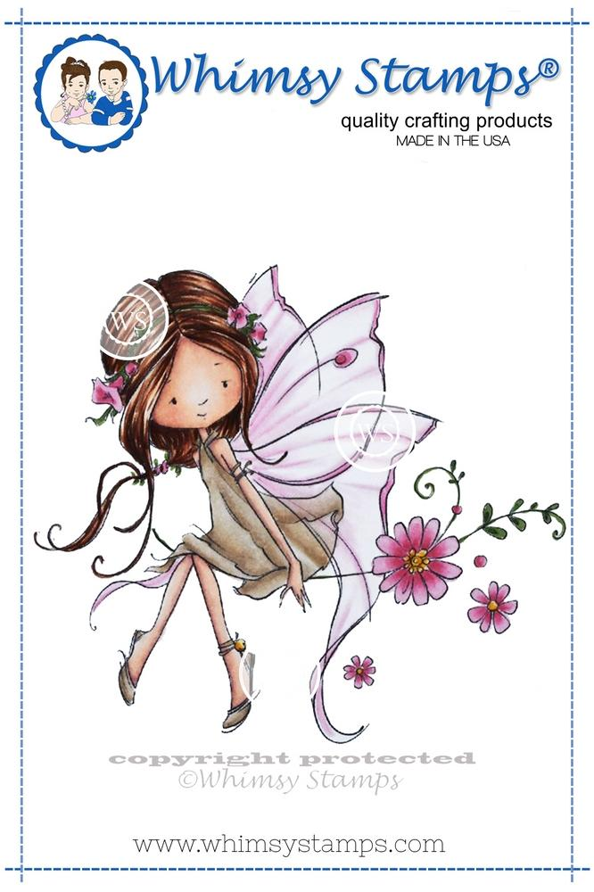 *NEW* - Whimsy Stamps - Giselle the Fairy