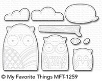 *NEW* - My Favorite Things - Die-namics Owl My Love