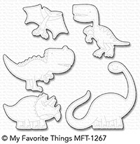 *NEW* - My Favorite Things - Die-namics Delightful Dinosaurs