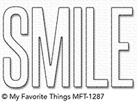 *NEW* - My Favorite Things - Die-namics Smile