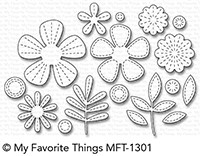 *NEW* - My Favorite Things - Die-namics Stitched Blooms