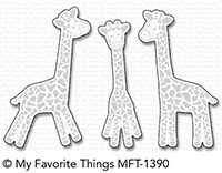 *NEW* - My Favorite Things - Die-namics Playful Giraffes