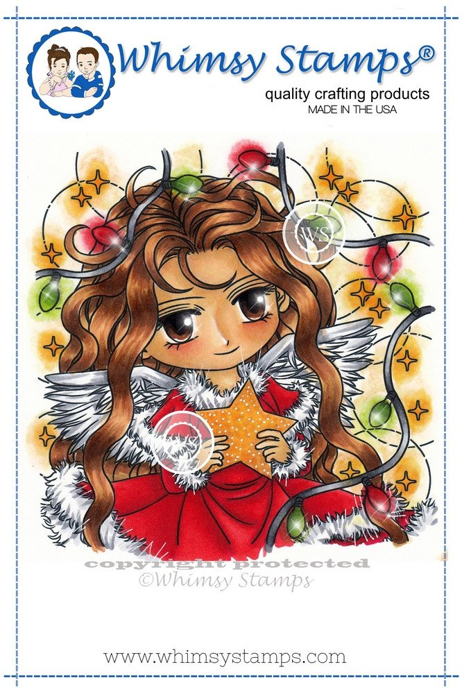 Whimsy Stamps - Angelica - Art by MiRan