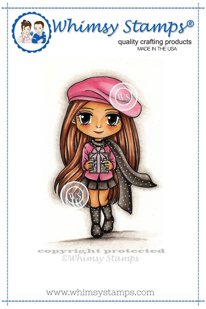 Whimsy Stamps - Winter Wendy - Art by MiRan