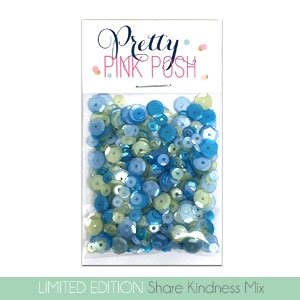 Pretty Pink Posh - Share Kindness Sequins Mix
