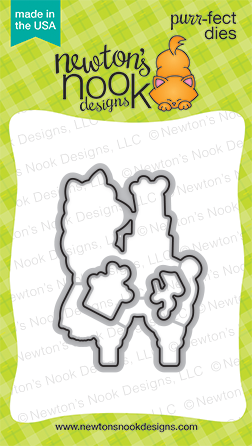 *NEW* - Newton's Nook - Llama Delivery Die Set