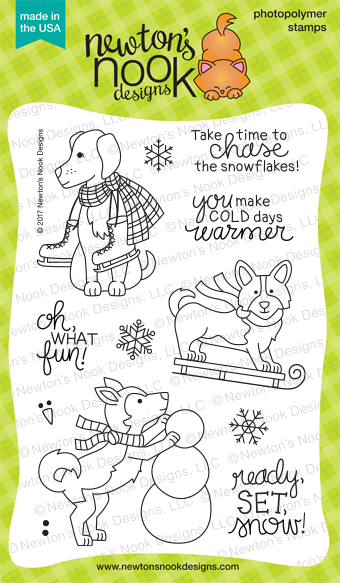 *NEW* - Newton's Nook - Winter Woofs