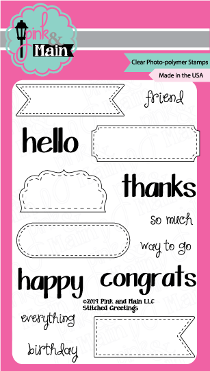 Pink and Main- Stitched Greetings