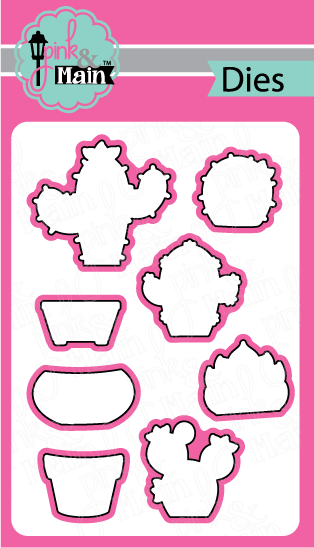 *NEW* - Pink and Main - Sticky Note Dies