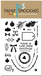 *XMAS* Paper Smooches - STAMPS - Holly Jolly